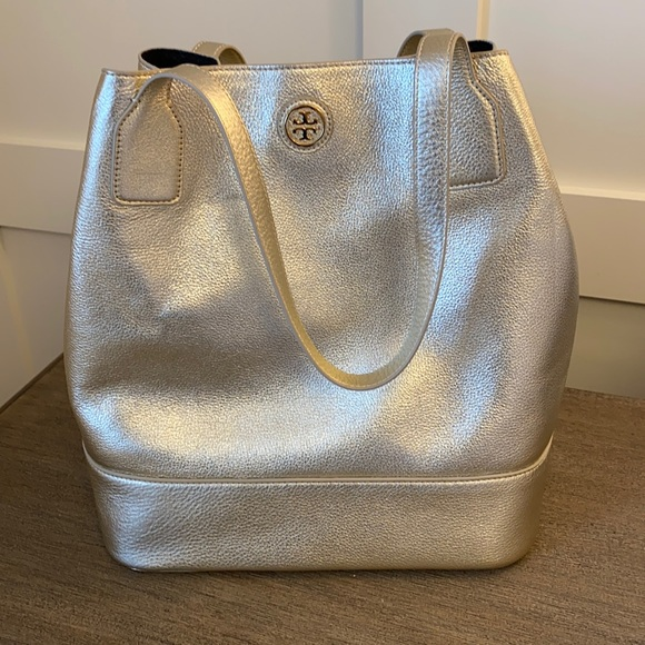 Tory Burch Michelle tote Gold.